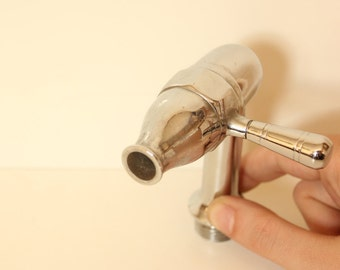 Vintage Water Faucet (Nickel-Chrome Plated Brass)