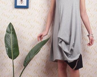 Art 52/16 30% Abito Formica. Sartorial, Made in Italy,Handmade, Atelier,Summer, Everyday,Dress,Jersey, Sleeveless.
