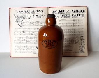 Brown Stone Bottle, Old Bed Warmer, 1900s Hot Water Bottle, Foot  Warmer, Domestic Bazaar Co, Vintage Bottle Decor - not original stopper