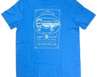 Cheshire Pork Chalkboard Color Tees