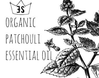 Patchouli Oil | Organic Patchouli Essential Oil | Patchouli Perfume | Organic Hippie | Organic Patchouli Oil