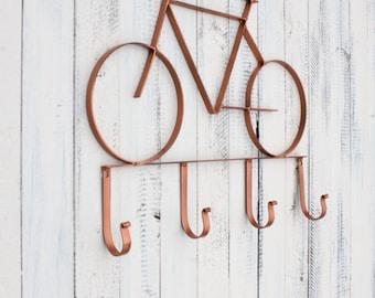 Metal Bicycle Wall Decor bike hook | etsy