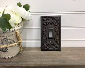 Rustic light switch cover Etsy