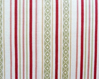 Blue and Yellow Stripe Quilt Fabric,
