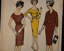 1960's Dress & Jacket Sewing Pattern in Size 16 - Blackmore 9292
