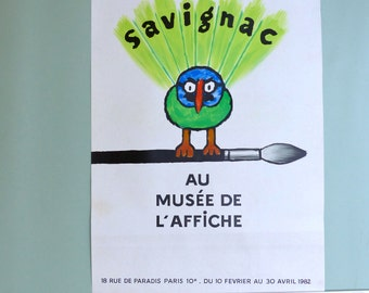 Savignac exhibition posters