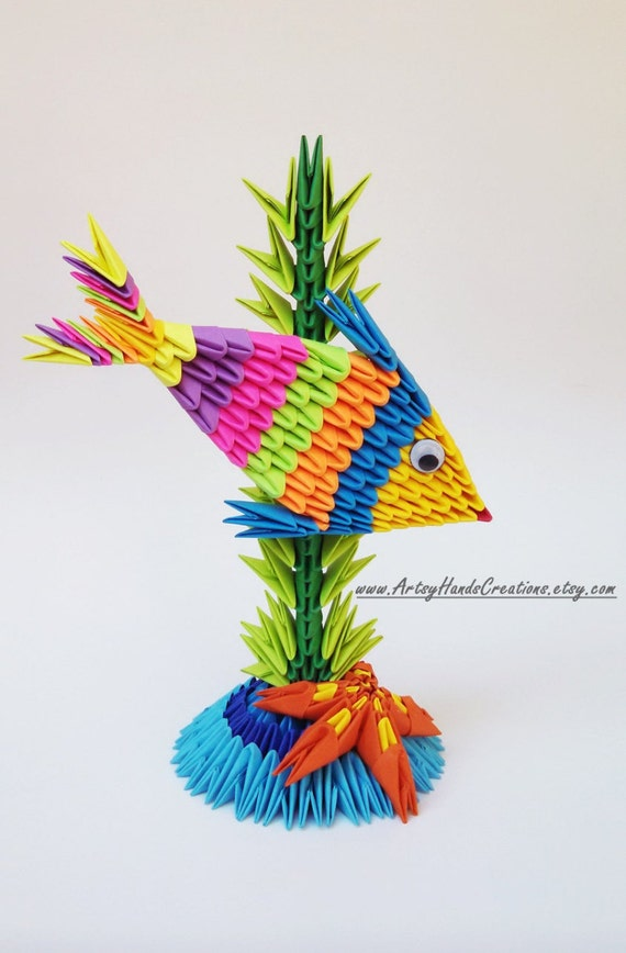 3d origami peacock tutorial | DIY Youtube | 868x570