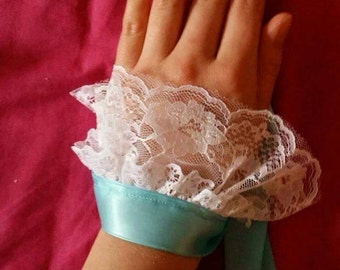 Laced hand / ankle cuff