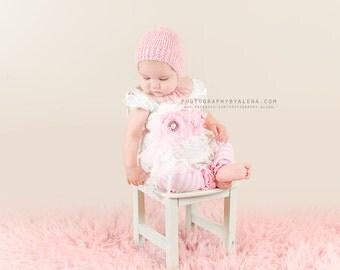 Baby Hats, Newborn Bonnet, Buy 2 get 1 FREE, Newborn Photo Props,  Mohair Bonnets, U Choose Color size