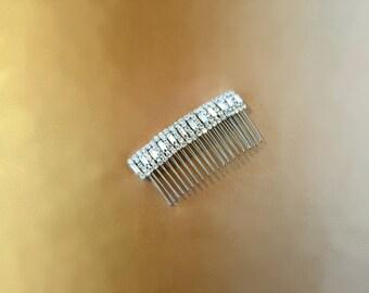 Hair Accessories, Rhinestone Comb, Bridal Comb