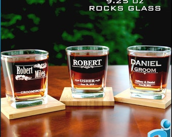 Personalized Whiskey Glasses, Personalized On The Rocks Glasses, Whiskey Glasses, Scotch Glasses Engraved,
