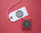 MANDALA. Rubber stamp