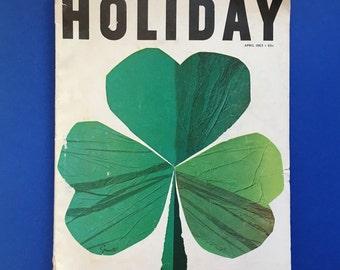 HOLIDAY Magazine April 1963 Ireland