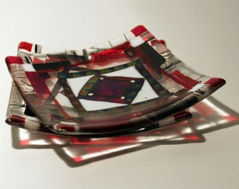 Glass Plate- Fused Glass
