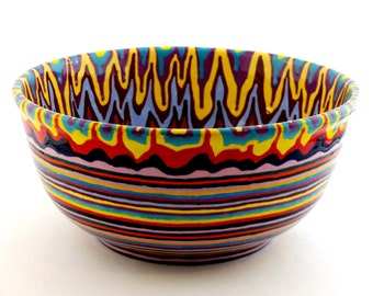 Hand Painted Large Bowl