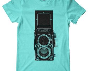 Rolleiflex Camera American Apparel T-Shirt