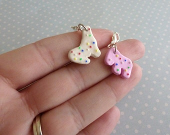Best Friend Gifts Miniature Food Jewelry Animal Cookies