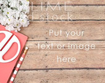 Styled Stock Photography / Wood Background / Styled Photography / Digital Background / Wood Background / Social Media Stock / StockStyle-718