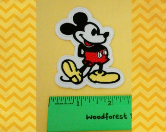 Adorable  Mickey Mouse iron on patch