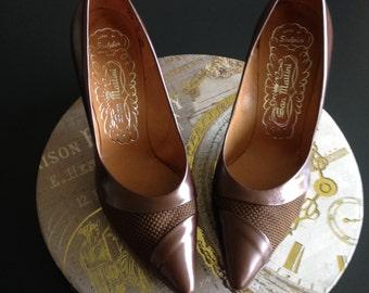 Vintage Super Stylish Mocha Brown Shoes