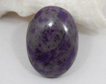 Sugilite cabochon (18x15x5 mm) 13 ct Natural gemstone - Oval Shape - Stone of Love NS-4300