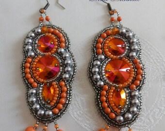"""Earrings """"Ardent Heart"""""""
