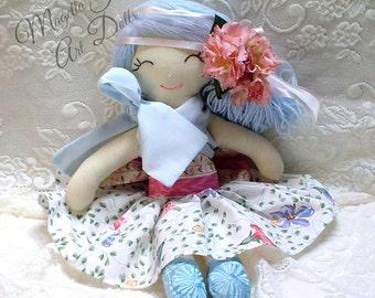 OOAK,  Doll, MIMI  Original, handmade doll, cloth doll, cute doll, keepsake doll
