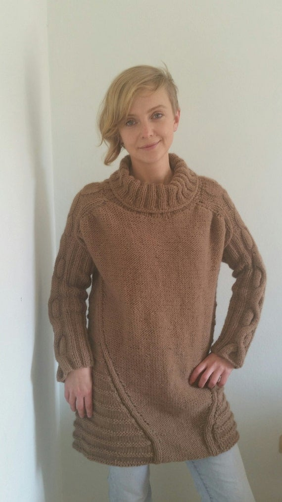 Items similar to Oversized sweater, chunky knit sweater ...