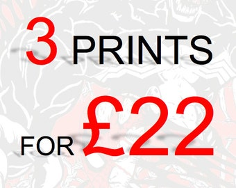 PRINT/POSTER OFFER - 3 for 22 pounds