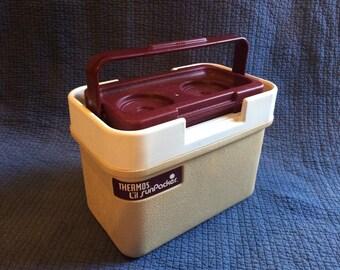 Vintage Thermos L'il Sun Packer/Vintage Portable Cooler