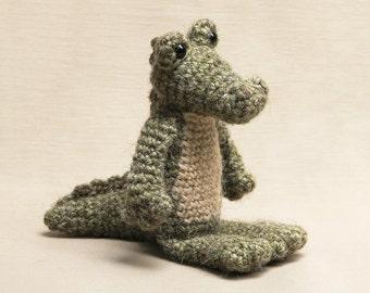 Amigurumi crochet crocodile alligator pattern