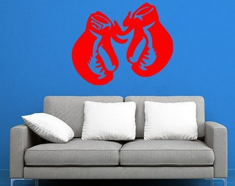 Boxing Gloves Vinyl Decal