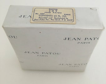 Celebrity Owned Sealed Vintage Joy Jean Patou Pure Perfume No. 1104 15ml 1/2oz, Vintage Perfume, Joy Perfume Bottle, Vintage French Perfume