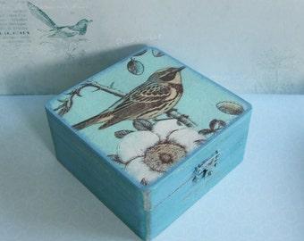 bird box/trinket box/jewelry box/keepsake box