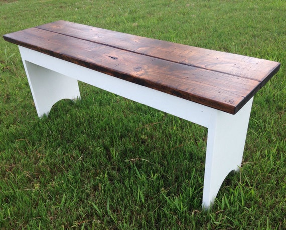 Rustic Wooden Foyer Bench : Entryway bench rustic distressed wood