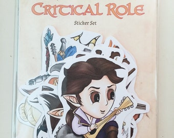 Critical Role Sticker Set