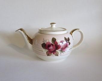 Rose Teapot - English Teapot - English Rose - Vintage Teapot  - Kitchen Decor