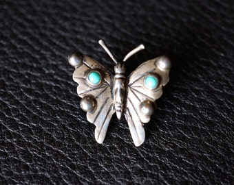 Navajo Butterfly Fred Harvey Pin