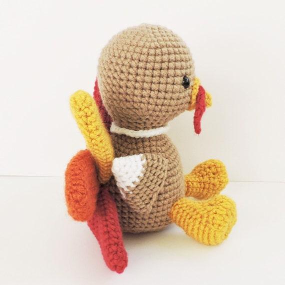 Free Turkey Amigurumi Pattern : Crochet turkey pattern thanksgiving amigurumi