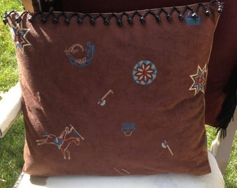 Native American Inspired Two Sided Pillow