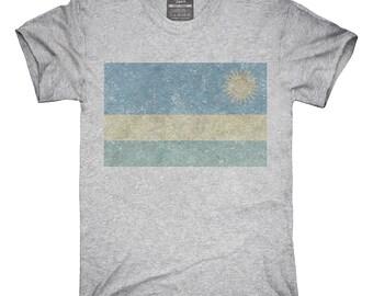 Retro Vintage Rwanda Flag T-Shirt, Hoodie, Tank Top, Gifts