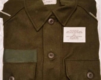 Cold Weather Wool (80) Nylon (20) Army Shirt