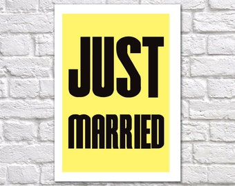 Wedding Card | Just Married Card | Congratulations On Getting Married Card | Congratulations On Your Wedding | Well Done You Two