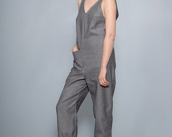 Women's jumper/ onesie / overalls / coveralls in chambray