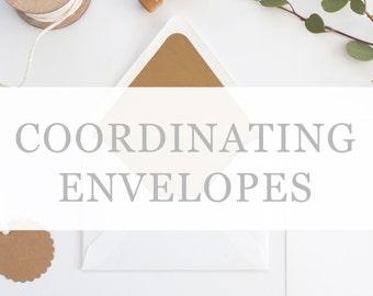 Premium Coordinating Envelopes