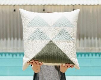 Mountain Pillow - Forest Light