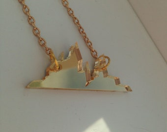 Hogwarts is my home necklace