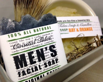 Father's Day Gift - Men's Gift - Shave Kit - Mens Shaving Kit - Shave Soap - Shave Brush - Shaving Brush - Shave Bowl - Shave Set