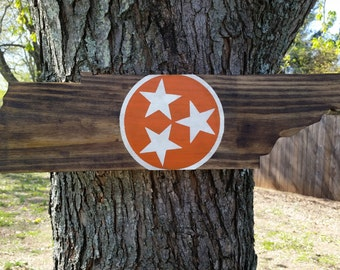 Wood signs, Tennessee sign, Tennessee state flag, University of Tennessee Wood sign, Tennessee home sign, TN shaped sign, power t TN sign