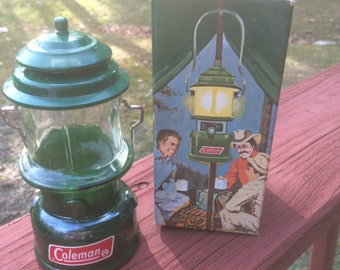Avon Collectible Coleman Lantern Empty Wild Country Cologne